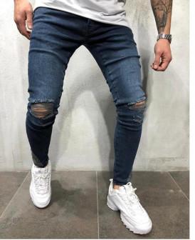 Jeans skinny bleu brut...