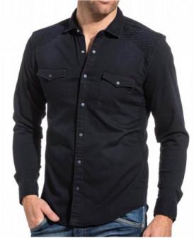 chemise Bleu Brut aspect jeans