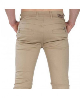 Pantalon chino coupe slim...