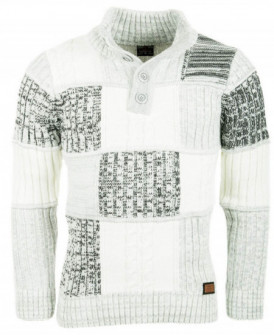 Pull homme chaud maille...