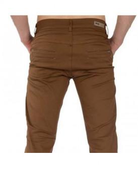 Pantalon chino Tabac coupe...