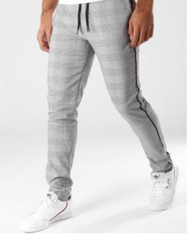 Pantalon à carreaux avec...